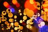 Ambiance (DJ Axis) Tags: restaurant interior lights luminaire soirée evening glass yellow limières rouge orange red mauve purple round