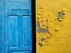 Fuerteventura (denismartin) Tags: colors colorsoftheworld colorandcolors colour two blue yellow spain españa fuerteventura canaryisland canaries canarias islascanarias atlanticocean doors wall denismartin travel travelphotography island pájara