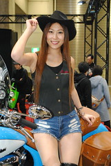 Tokyo Motorcycle Show 2018 (ジェローム) Tags: tokyomotorcycleshow odaiba tokyo japan japanese girl woman asia asian