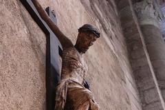 CHRIST SUR LA CROIX pour CROIRE. (Diké) Tags: passion de notre seigneur jésus vendredi saint crucifixion méditation adhésion foi chrétiens silence prière contemplation christ en croix image archives dikée