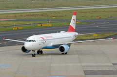 Austrian Airlines Airbus A320-214 OE-LBI (EK056) Tags: austrian airlines airbus a320214 oelbi düsseldorf airport