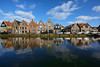 Monnickendam (Julysha) Tags: monnickendam town sky canal reflection spring kade april 2018 acr thenetherlands noordholland dutch d800e nikkor142428