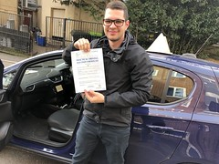 Massive congratulations to Ricardo Urrutia passing his driving test on his first attempt with only 4 minor faults.  www.leosdrivingschool.com