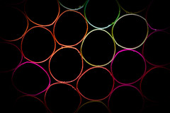 Light at the end of the straw (mvnfotos) Tags: circles macromondays
