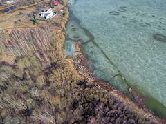 Forest Coast (free3yourmind) Tags: forest coast xiaomi mi drone quadcopter woods ice frozen lake trees above aerial minsk belarus