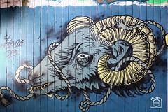 Graffitti Bock (DJR-FOTO) Tags: graffiti malen art kunst comic spraying sprühen dortmund 4k uhd street strassenfotografie streetfotografie goat bock ziege
