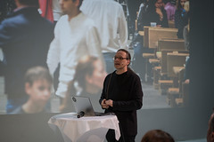 Gerfried Stocker (Ars Electronica) Tags: arselectronicafestival arselectronica errortheartofimperfection 2018 festival kunst technologie gesellschaft wissenschaft art technology society tech science linz austria upperaustria error gerfriedstocker pressconference