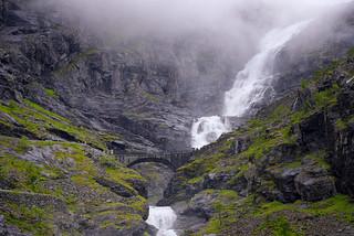 Stigfossen falls