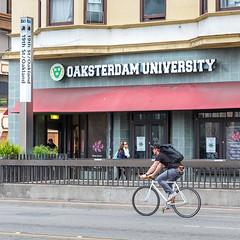 Oaksterdam University (helloandyhihi) Tags: cannabis pot marijuana education training oakland bicycle cyclist bart dispensary street urban