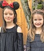 Mady and Lucy (pete4ducks) Tags: mady lucy friends bffs 2018 beaverton oregon on1pics hdr iphone portrait girls kids children cropped black grey freckles faces people 500views