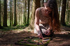 107/365 (Ursule Gaylard) Tags: 365project selfportrait woods making mandala