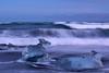 Jökulsárlón_Ice_Beach_L1090732 (nocklebeast) Tags: iceland jökulsárlónicebeach jökulsárlón southcoast ice blacksand nrd