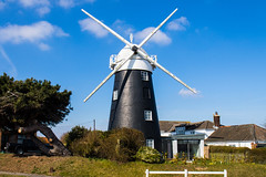 Mundesley Windmill (Geordie_Snapper) Tags: 2470mm bactonholiday canon7d2 eastanglia march mundesley norfolk paston spring stowmill sunny windmill
