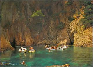 0321 R Costa Brava Cap de Mort Puerto de la Selva Španjolska Catalonia Catalunya 17.VIII.1985. za VT Issabella