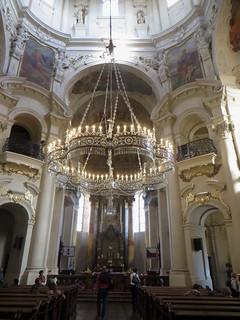 Eglise baroque St Nicolas (1737), Staroměstká náměstí, Stare Mesto, Prague, République tchèque.