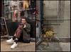 New Chinatown-Diptych #3, New York, 2018. (Jack Toolin) Tags: documentaryphotography newyorkcity cities urban gentrification serviceeconomy chinatown sonya7rii streetphotography portraits diptychs