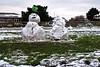 Snowy Sunday (Jainbow) Tags: snowmen snowman southseacommon southsea portsmouth snow jainbow