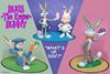 ES 2015-01  Bugs, The Easter Bunny (StarRunn) Tags: easter holiday bugsbunny elmerfudd warnerbros wb pvc toys decoratedeggs looneytunes