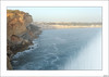 Por allí terminaría el mundo, dijeron (V- strom) Tags: paisajes landscape mar sea océano océanoatlántico ocean azul blue roca rock portugal nazaré cielo sky olas surf viaje travel texturas textures nikon nikond700 nikon2470 vstrom cataratas cataract concepto concept