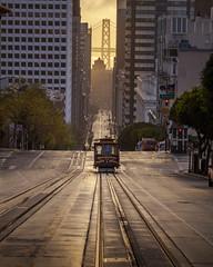 California Street (Juan Pablo J.) Tags: city streetphotography street transportation train urban cityscape sanfrancisco canon5dmkii sunrise architecture