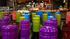 Colourful Bottle Tops (Theen ...) Tags: adelaidecentralmarket bottle tops wine theen adelaide bright colours stall angove