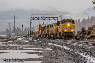 UP 8836 | EMD SD70AH | UP Roseville Subdivision