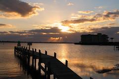 QUIET MORNING (R. D. SMITH) Tags: indianriver sunrise water morning clouds river florida melbourneflorida brevardcountyflorida canonrebelxsi