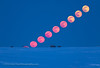 Rising Easter Full Moon (Composite) (Amazing Sky Photography) Tags: alberta bluemoon easter equinox fullmoon rise rising composite paschal prairie redmoon snow timelapse