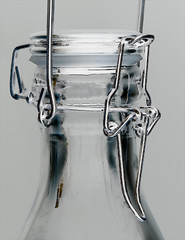 Clamp It (It's 70'F Outside...NICE!!!) Tags: odc holdittogether clamp silver bottle glass clear