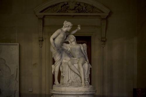 François-Nicolas Delaistre, Amour et Psyché, Musée du Louvre
