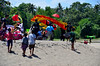 Carrying The Kites To The Competition (itchypaws) Tags: northkuta bali indonesia id pantai batubelig beach sand sea ocean water 2017 holiday vacation asia island seminyak