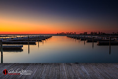 Ready to Dock (andrewslaterphoto) Tags: andrewslaterphotography cityscape dock greatlakes lakemichigan mke marina mckinley milwaukee pier place sunrise ventranspark water boats canon 5dmarkiii leefilter longexposure city