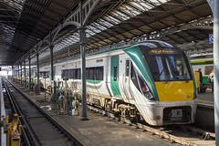 Iarnrod Eireann 22344, Dublin Heuston, March 2018 (Rochdale 235) Tags: dmu railway rail railways transport train trains dublin station heuston class22000 22344 irish iarnrodeireann