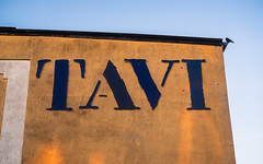 TAVI (and a bird) (Poul_Werner) Tags: danmark denmark skagen 53mm aften easter evening gable gavl night påske solnedgang sunset wall northdenmarkregion dk