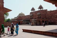 Fatehpur Sikri - (76) (Rubén Hoya) Tags: fatehpur sikri templo palacio capital imperial rajasthan india