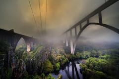 Miradoiro de Gundián (Feans) Tags: sony a7r a7rii ii voigtlander 12 iii vm wide heliar leicam miradoiro mirador gundian cañon canyon rio ulla river ponte boqueixón vedra galiza galicia camiño camino santiago xacobeo puente bridge paso da cova san xoan ave