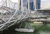 Double Helix Bridge, Singapore (Chicago_Tim) Tags: bridge doublehelix helix walking marinabay bay marina