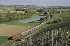Die Baureihe 147 mit n-Wagen...... by Marcel Lober - ......das gibt es nur hier im Stuttgarter Raum und ist ziemlich einmalig in Deutschland. Leider nächstes Jahr unwiederbringlich vorbei, wenn die privaten kommen. Also nun verstärkt der Fokus da drauf gelegt und im abendlichen Licht, die 147 002, mit einem RE nach Osterburken in Szene gesetzt.