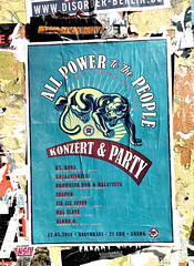 All Power to the Poeple (seven_resist) Tags: disorder rebel store poster posters plakate plakat posterink berlin xberg refugees welcome punk punkposter art artist political
