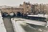 Pulteney Bridge & Weir (Nige H (Thanks for 12m views)) Tags: city cityscape nature landscape winter snow river riveravon bath england weir bridge pulteneybridge pulteneyweir southwestengland