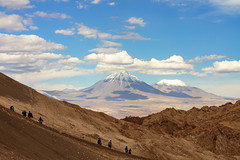 Far away the lonely mountain stands... (khandozhkoa) Tags: landscape landscapesdreams 2018 trips vacation travel traveler aroundtheworld mountains emount mountain sky skyline desert chile america fullframe color clouds sony sonyalpha a7riii a7 24105g