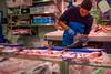 Cleaver Action _3962 (hkoons) Tags: bayofbiscay westerneurope forsale atlantic europe european iberia oviedo presentation spain spanish coast coastal display fish fishy food market meat ocean port sale sea seafood table