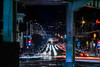 south van ness exchange (pbo31) Tags: sanfrancisco city california nikon d810 night dark color march 2018 urban boury pbo31 soma lightstream roadway traffic motion infinity howardstreet southvannessavenue over black centralfreeway 101 80 motionblur