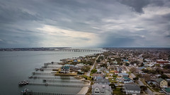 Beautiful Morehead City Waterfront. Atlantic Beach Bridge In The Background (Marc_714) Tags: marc714 mavicair drone ariel 200ft