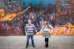 Rachel & Dave (41) (Brian Isemann) Tags: the creamery baltimore hampden fuji xt2 xt20 engagement