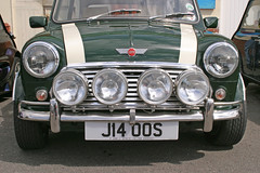 1991 Rover Mini Cooper S J14 OOS (davidseall) Tags: 1991 rover mini cooper classic old style small j14 oos j14oos s l2b london brighton run