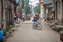 Village scene (S. Peterson) Tags: stevepeterson vietnam daothucvillage northvietnam backalleyliving