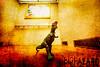 Elevator Doorman (Barb Henry) Tags: dinosaur danger threat elevator fierce monster ride biohazard journey mystery tyrenauserousrex