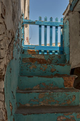 5 Islands: Tinos – Stairs and gate (Thomas Mulchi) Tags: cycladesislands cyclades 2016 tinos spring islandhopping southaegean greece detail stairs steps colorful gate walls pyrgos egeo gr