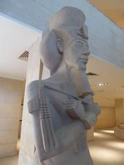 Akhenaten (Aidan McRae Thomson) Tags: amarna egypt museum ancient egyptian statue sculpture